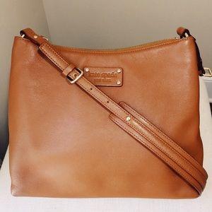 Kate Spade Soft Pebbled Acorn Leather Shoulderbag